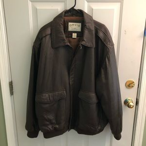 Men's Orvis Leather jacket